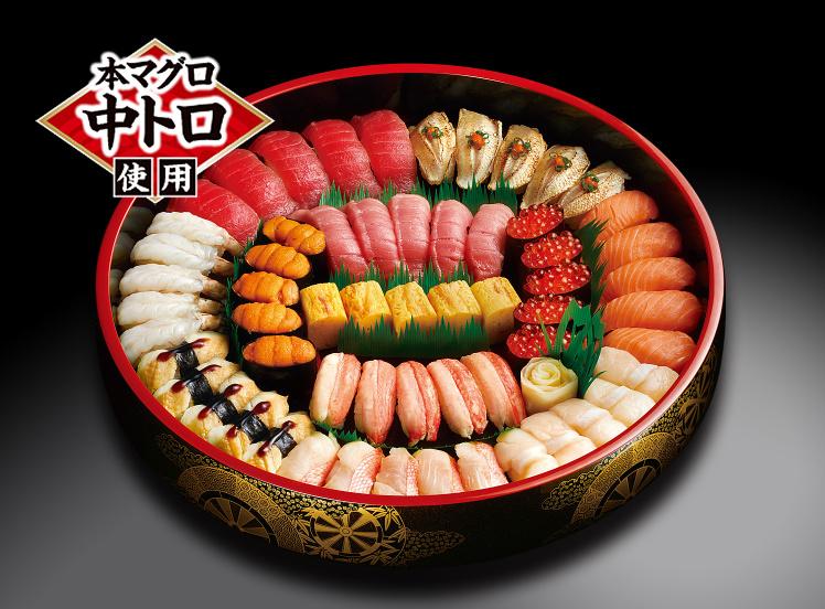 オプション料理第2弾:寿司!